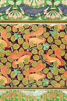 Art Classics, Maurice Pillard Verneuil: Martinets et chèvrefeuille (France, Europe)