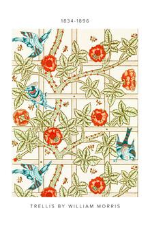 Art Classics, William Morris: Trellis - exhibition poster (United Kingdom, Europe)