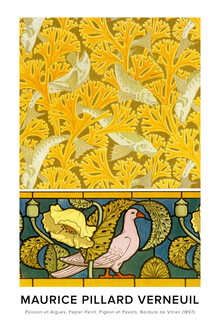 Art Classics, Maurice Pillard Verneuil: Poisson et algues - exhibition poster (France, Europe)