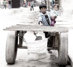Momó Díaz, Kathmandu children (Nepal, Asien)