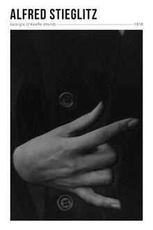 Art Classics, Alfred Stieglitz: Georgia O'Keeffe 2 - Ausstellung.poster (Vereinigte Staaten, Nordamerika)