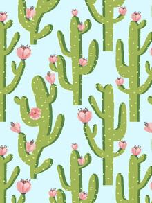 Uma Gokhale, Summer Cactus (India, Asia)