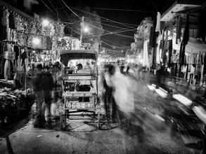 Jagdev Singh, A street in Delhi (Indien, Asien)