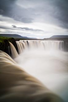 Godafoss Wasserfall - fotokunst von Boris Buschardt