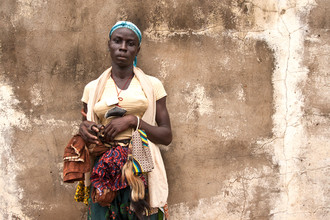 "Lucía Arias Ballesteros, ""Bila"" dancer - Kumbungu village,    Northern Region   (Ghana, Africa)"