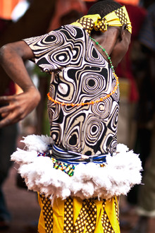 Lucía Arias Ballesteros, Dancer of the The Thama Cultural Group - Tamale (Ghana, Afrika)