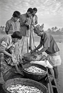Jakob Berr, Merchant buying fish (Bangladesh, Asia)