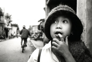 Jacqy Gantenbrink, Little girl in Vietnam (Vietnam, Asien)