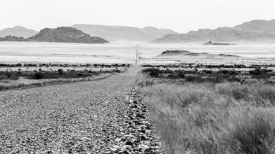 Dennis Wehrmann, Einsamkeit in der Weite der Namib Wüste Namibias (Namibia, Afrika)