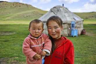 René Ruis, Geschwisterpaar (Kirgistan, Asien)