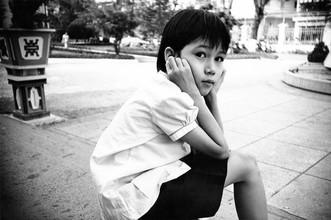 Jacqy Gantenbrink, Vietnamesisches Mädchen in Saigon (Vietnam, Asia)