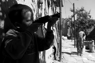 Rada Akbar, The Boy with the Gun (Afghanistan, Asia)
