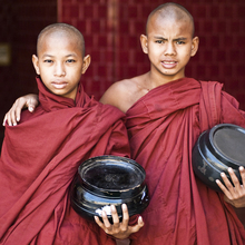 Manfred Koppensteiner, Monks (Myanmar, Asien)