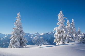 Johannes Netzer, Winter in den Bergen (Österreich, Europa)