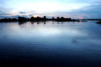 Marisa Pettit, Sunset over 4000 Islands (Laos, Asia)