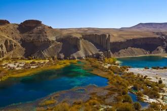 Band-e-Amir Lake  - fotokunst von Rada Akbar