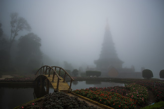 The Mist - Fineart photography by Tanapat Funmongkol
