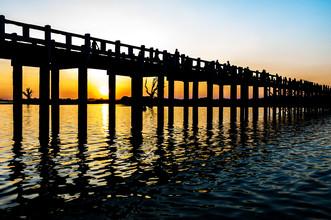 Simon Bode, the bridge  (Myanmar, Asia)