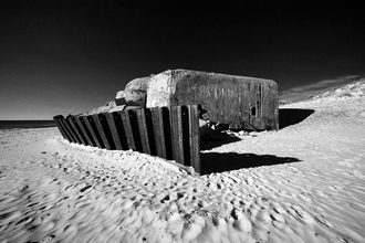Holger Ostwald, Bunker am Strand (Dänemark, Europa)