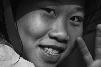 Girl from Mekong - Fineart photography by Phyllis Bauer
