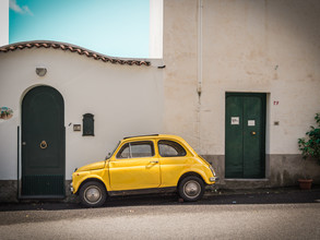 Johann Oswald, Yellow Fiat 500 (Italy, Europe)
