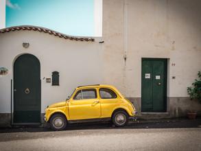 Johann Oswald, Yellow Fiat 500 (Italien, Europa)