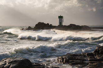 Wilde Wellen - fotokunst von Monika Schwager