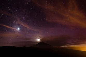 Marco Entchev, Sonnenuntergang und Sterne auf Teneriffa (Spanien, Europa)