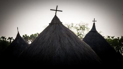 Christliche Hütte - fotokunst von Ulrich Kleiner