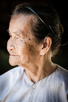 Mathias Becker, Old Lady in Vietnam (Vietnam, Asien)