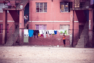 Anke Dörschlen, Die Flats von Worcester (Südafrika, Afrika)