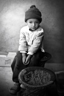 Victoria Knobloch, Junge in Kathmandu (Nepal, Asien)