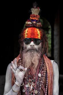 Jagdev Singh, Colorful Sadhu (Nepal, Asien)
