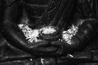Buddha in Nirvana - fotokunst von Jagdev Singh