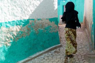 Christina Feldt, Running girl, Ethiopia (Äthiopien, Afrika)