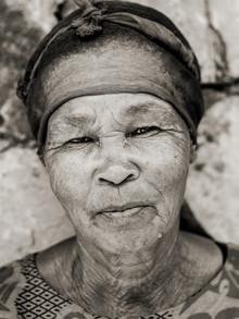 Jörg Faißt, Wife of a namibian farmworker (Namibia, Afrika)
