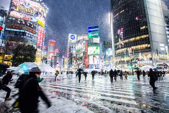 Jörg Faißt, Shibuya Crossing (Tokyo) in Winter (Japan, Asien)