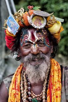 Jagdev Singh, Happy Sadhu (Nepal, Asien)