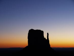 Holger Ostwald, Monument Valley am Abend (Vereinigte Staaten, Nordamerika)