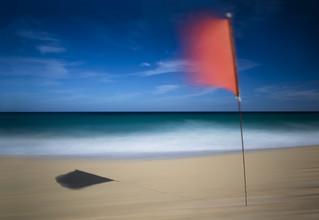 Jens Rosbach, Strandfahne (Spanien, Europa)