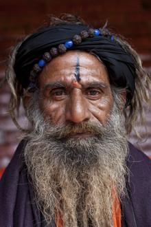 Jagdev Singh, Tapasvi sadhu (Nepal, Asien)
