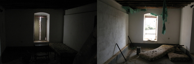 Elsa Thorp, Abandoned rooms in Aliki, Paros Island, Greece (Greece, Europe)