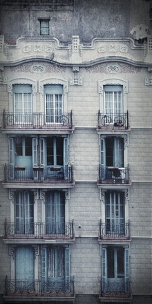 Elvira Stürmer, Barcelonas Fassaden (Spanien, Europa)