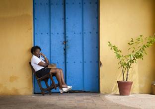 Jens Rosbach, Telefonistin, Kuba (Kuba, Lateinamerika und die Karibik)