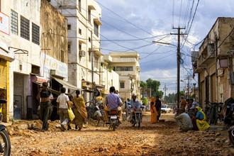 Markus Schieder, Straßenszene in Jaipur (Indien, Asien)