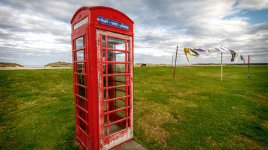Jörg Faißt, Telephone booth - Lossiemouth (Scotland) (United Kingdom, Europe)