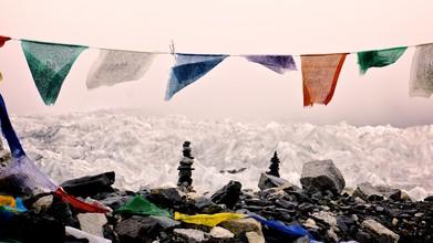 Ignacio Garnham, Everest glacier (Nepal, Asien)
