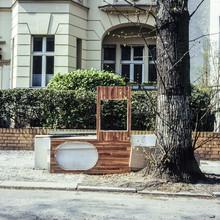 Jost Galle, Stadt-Detail, Berlin-Steglitz (Deutschland, Europa)