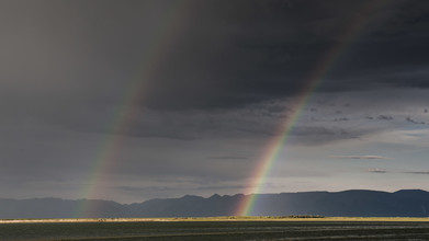 Schoo Flemming, Double Rainbow (Mongolei, Asien)