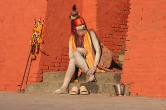 Gaurav Dhwaj Khadka, Sadhu at Pashupatinath premises (Nepal, Asia)
